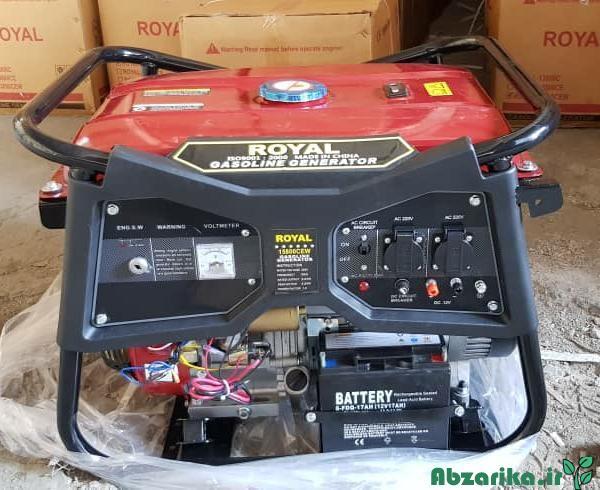 موتور برق رویال 5