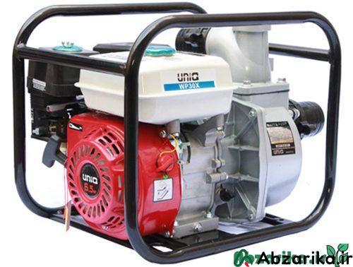 موتور پمپ دو اینچی یونیک طرح هوندا مدل WP20X
