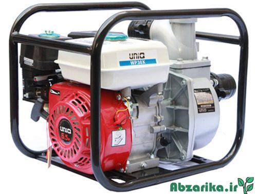 موتور پمپ سه اینچی یونیک طرح هوندا مدل WP30X
